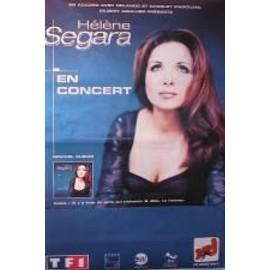 Segara Hélène - AFFICHE MUSIQUE / CONCERT / POSTER