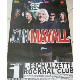 John MAYALL - AFFICHE MUSIQUE / CONCERT / POSTER