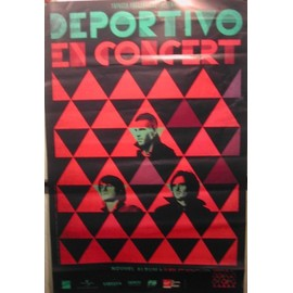 Deportivo - 2011 - AFFICHE MUSIQUE / CONCERT / POSTER