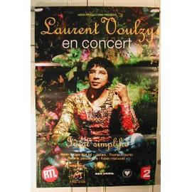 Voulzy Laurent - 2004 - AFFICHE MUSIQUE / CONCERT / POSTER