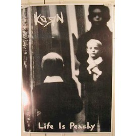 Korn - Life is Peachy - AFFICHE MUSIQUE / CONCERT / POSTER