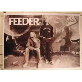 Feeder - AFFICHE MUSIQUE / CONCERT / POSTER