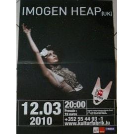 Imogen Heap - AFFICHE MUSIQUE / CONCERT / POSTER