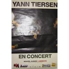 Tiersen Yann - AFFICHE MUSIQUE / CONCERT / POSTER