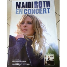 Maidi ROTH - AFFICHE MUSIQUE / CONCERT / POSTER