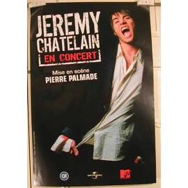 Chatelain Jeremy - AFFICHE MUSIQUE / CONCERT / POSTER