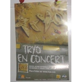 Tryo - 2003 - AFFICHE MUSIQUE / CONCERT / POSTER