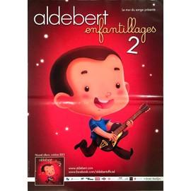 Aldebert - AFFICHE MUSIQUE / CONCERT / POSTER