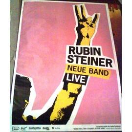 Rubin Steiner - AFFICHE MUSIQUE / CONCERT / POSTER