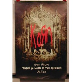 Korn - AFFICHE MUSIQUE / CONCERT / POSTER