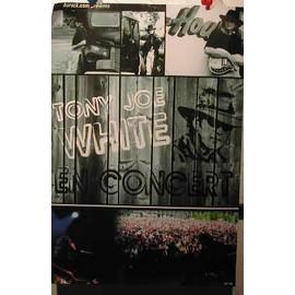 Tony Joe White - AFFICHE MUSIQUE / CONCERT / POSTER