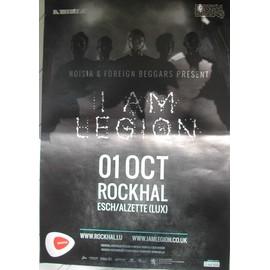 I Am Legion - AFFICHE MUSIQUE / CONCERT / POSTER