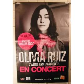 Ruiz Olivia - AFFICHE MUSIQUE / CONCERT / POSTER