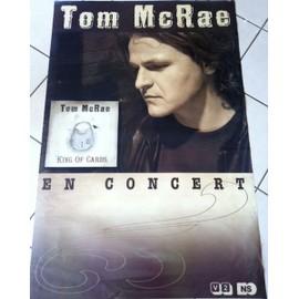 Tom McRae - AFFICHE MUSIQUE / CONCERT / POSTER