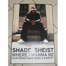 Shade Sheist - AFFICHE MUSIQUE / CONCERT / POSTER