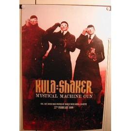 Kula Shaker - AFFICHE MUSIQUE / CONCERT / POSTER