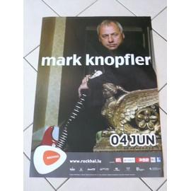 Mark KNOPFLER - AFFICHE MUSIQUE / CONCERT / POSTER