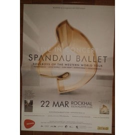 Spandau Ballet - Soulboys of The Western World - AFFICHE MUSIQUE / CONCERT / POSTER