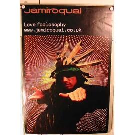 Jamiroquai - Love Foolosophy - AFFICHE MUSIQUE / CONCERT / POSTER