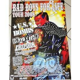 Bad Boys For Life - Diable - AFFICHE MUSIQUE / CONCERT / POSTER