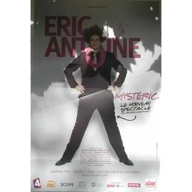 Eric Antoine - AFFICHE MUSIQUE / CONCERT / POSTER
