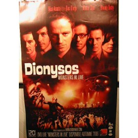 Dionysos - Monster In Live - AFFICHE MUSIQUE / CONCERT / POSTER