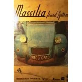 Massilia Sound System - 2CV - AFFICHE MUSIQUE / CONCERT / POSTER