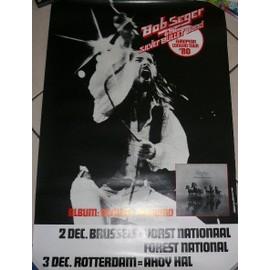 Bob Seger - 1980 - AFFICHE MUSIQUE / CONCERT / POSTER