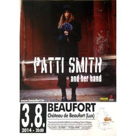 Patti SMITH - AFFICHE MUSIQUE / CONCERT / POSTER