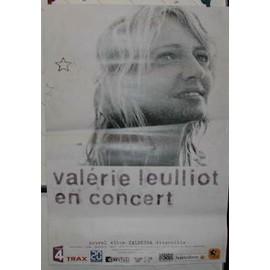 Valérie LEULLIOT - AFFICHE MUSIQUE / CONCERT / POSTER
