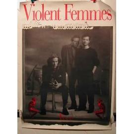 VIOLENT FEMMES - AFFICHE MUSIQUE / CONCERT / POSTER
