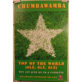 Chumbawamba - AFFICHE MUSIQUE / CONCERT / POSTER