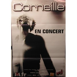 Corneille - 2006 - AFFICHE MUSIQUE / CONCERT / POSTER