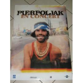 Pierpoljak - AFFICHE MUSIQUE / CONCERT / POSTER