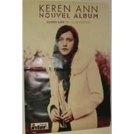 Keren Ann - AFFICHE MUSIQUE / CONCERT / POSTER