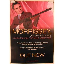 Morrissey - Out Now - AFFICHE MUSIQUE / CONCERT / POSTER