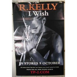 Kelly R - I Wish - AFFICHE MUSIQUE / CONCERT / POSTER