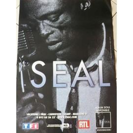SEAL - 2009 - AFFICHE MUSIQUE / CONCERT / POSTER