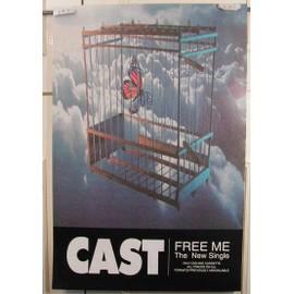 Cast Free Me - AFFICHE MUSIQUE / CONCERT / POSTER