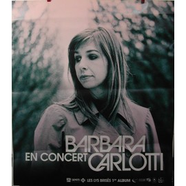 Barbara CARLOTTI - AFFICHE MUSIQUE / CONCERT / POSTER