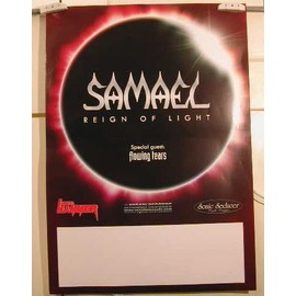 Samael - AFFICHE MUSIQUE / CONCERT / POSTER