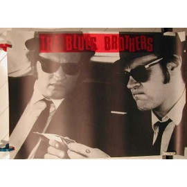 BLUES BROTHERS - AFFICHE MUSIQUE / CONCERT / POSTER