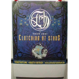 FISH  - Clutching At Stars - AFFICHE MUSIQUE / CONCERT / POSTER