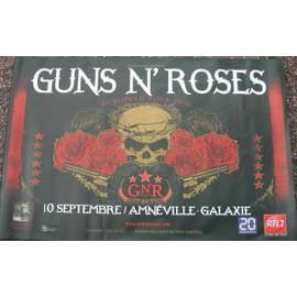 Guns n' Roses - AFFICHE MUSIQUE / CONCERT / POSTER