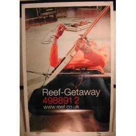 Reef Getaway - AFFICHE MUSIQUE / CONCERT / POSTER
