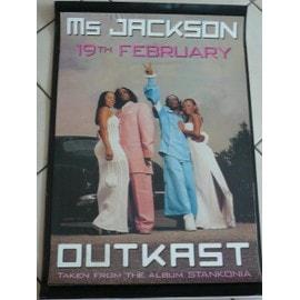 OutKast - AFFICHE MUSIQUE / CONCERT / POSTER