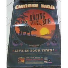 Chinese Man - AFFICHE MUSIQUE / CONCERT / POSTER