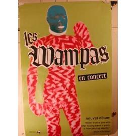 Wampas Les - 2004 - AFFICHE MUSIQUE / CONCERT / POSTER