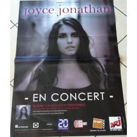 Joyce Jonathan - AFFICHE MUSIQUE / CONCERT / POSTER