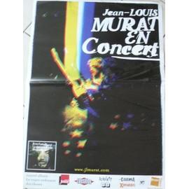 Jean-louis MURAT - AFFICHE MUSIQUE / CONCERT / POSTER